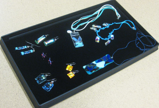 Handmade FUSED GLASS Jewelery