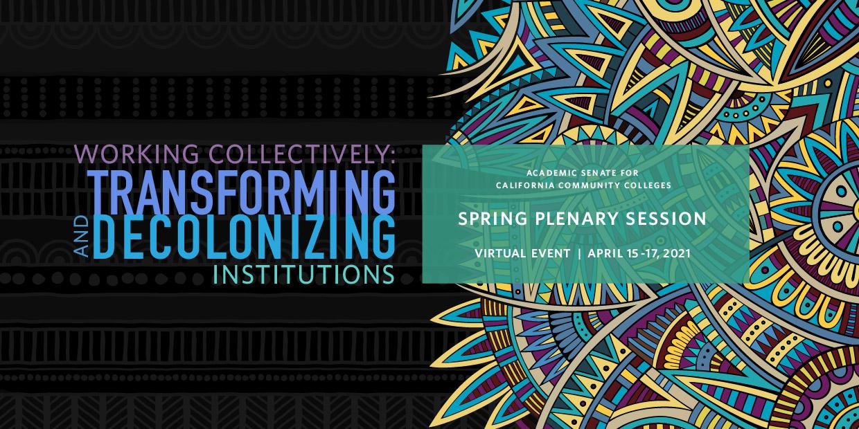 Spring Plenary Session 2021